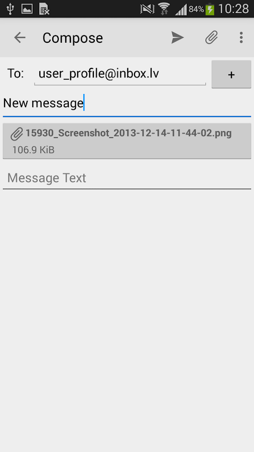 Inbox.lv - screenshot