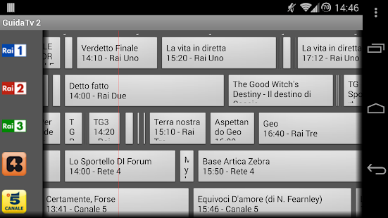 Guida Tv 2 Free - screenshot thumbnail