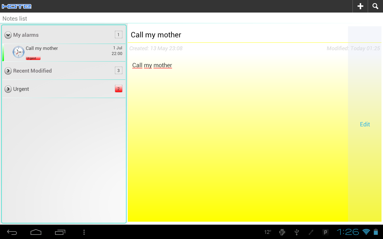 Kote - Notepad - screenshot