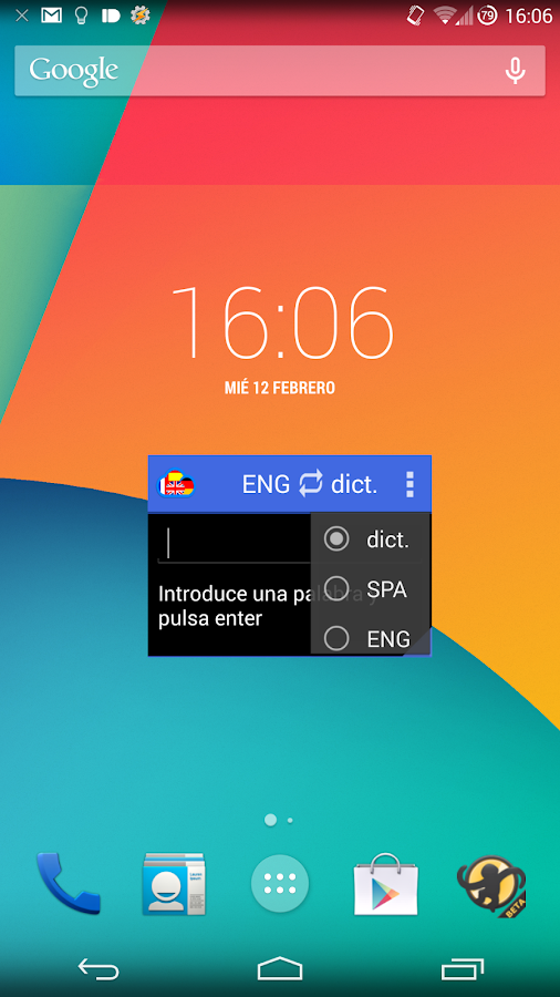 Floating Translator- screenshot