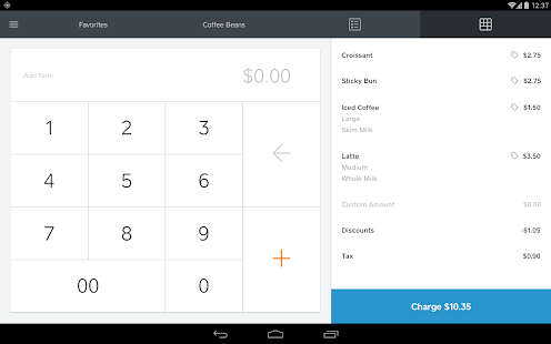 Square Register - screenshot thumbnail