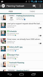 Hojoki - Project Management - screenshot thumbnail