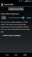 Screenshot of Screen Filter