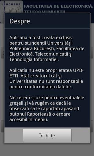 【免費教育App】Orar ETTI-APP點子