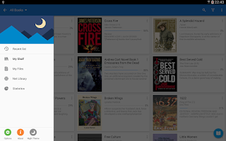 Screenshot of Moon+ Reader Pro