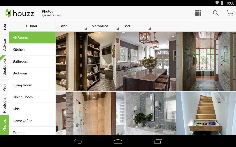 Houzz Interior Design Ideas Screenshot