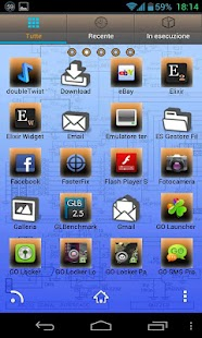 Electric Theme GO Launcher EX - screenshot thumbnail