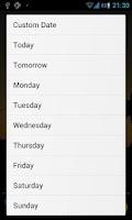 Screenshot of Pocket Event ICS (Quick Add)