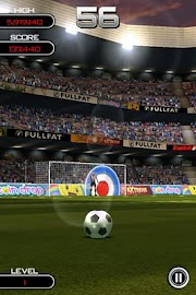 Flick Soccer! Screenshot 2