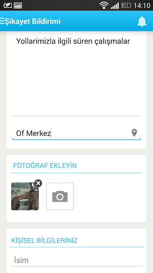 Of Belediyesi- screenshot