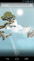 Screenshot of Sky Islands LWP