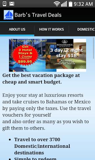 Barb's Travel Deals