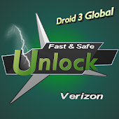 Unlock Verizon -Droid 3 Global