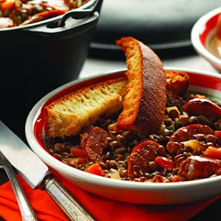 Umbrian Lentils & Sausage by Chef Michael Smith Recipe