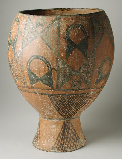 Prehistoric Painted Pottery Vessel