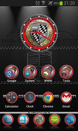 【免費個人化App】Soloporsche Launcher Theme-APP點子