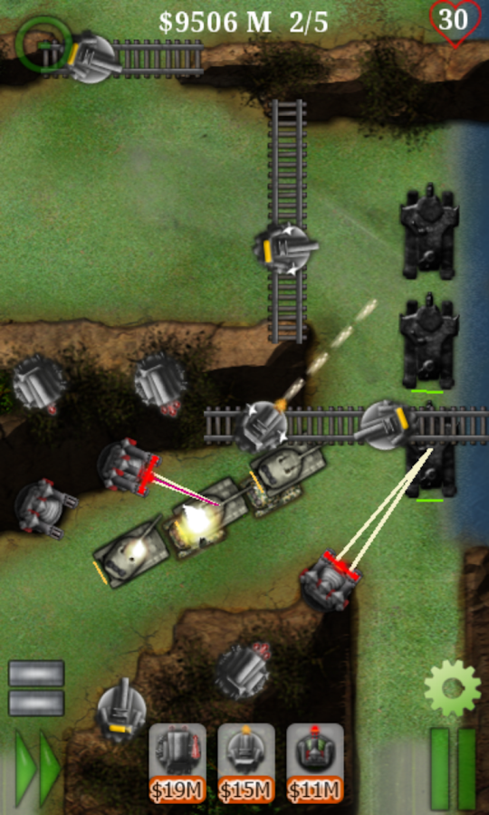 Armored Defense II: Tower Game - screenshot