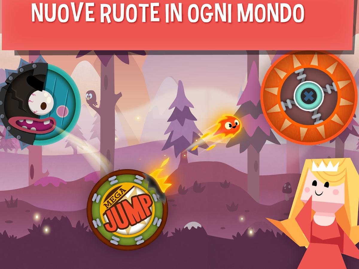 Pyro Jump- screenshot