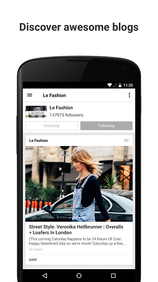 Bloglovin' - screenshot
