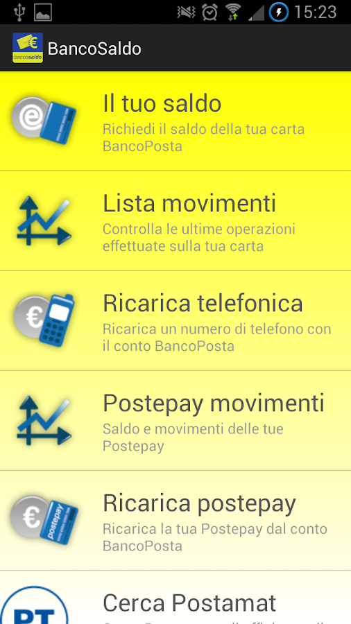 BancoSaldo - screenshot