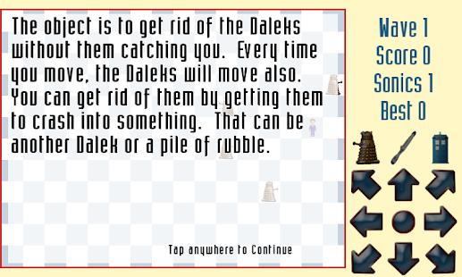 Daleks - screenshot thumbnail