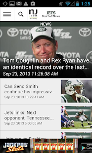 NJ.com: New York Jets News - screenshot thumbnail