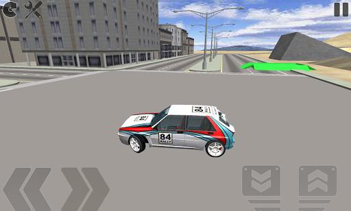 Rally Car: Driving Simulator