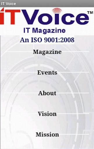 【免費新聞App】IT Voice January 2014-APP點子