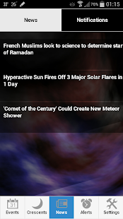 Astronomy Events with Push- screenshot thumbnail