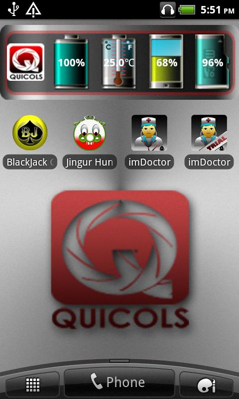 Quicols iSystem - screenshot