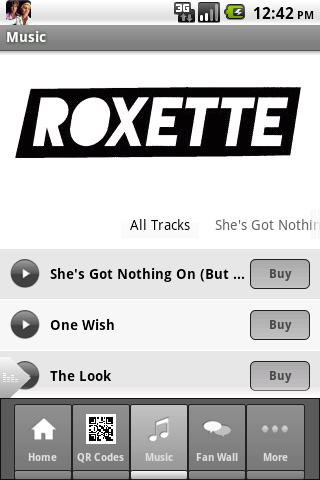 Roxette- screenshot