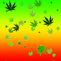 Weed Ganja Live Wallpaper icon