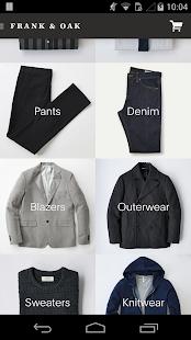 Frank & Oak - Premium Menswear - screenshot thumbnail