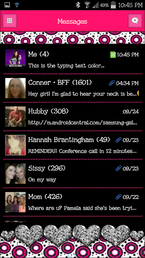 GO SMS - SCS220