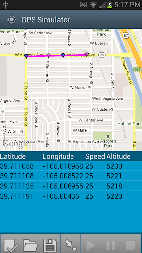 GPS Simulator Free
