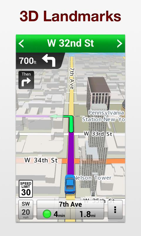 VZ Navigator for Bionic - screenshot