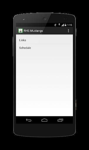 【免費教育App】RHS Mustangs-APP點子