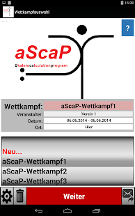 aScaP – Miniaturansicht des Screenshots