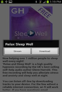 Relax & Sleep by Glenn Harrold - screenshot thumbnail