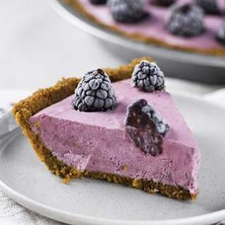 Blackberry-Lemon Ice Cream Pie Recipe
