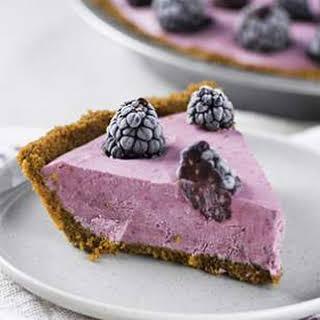 Blackberry-Lemon Ice Cream Pie.