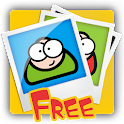 Raad Je Plaatje Free logo