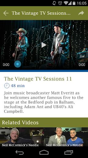 【免費音樂App】Vintage TV-APP點子