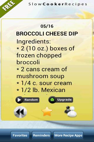 Slowcooker Recipe of the Day F- screenshot
