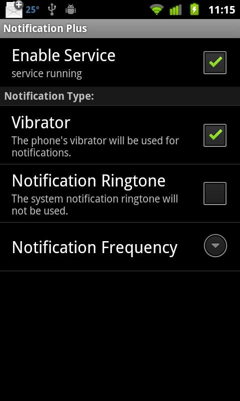 Notification Plus - screenshot