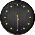 Analog Clock - Wood Theme 2