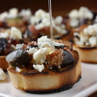 Grilled Fig Bruschetta.