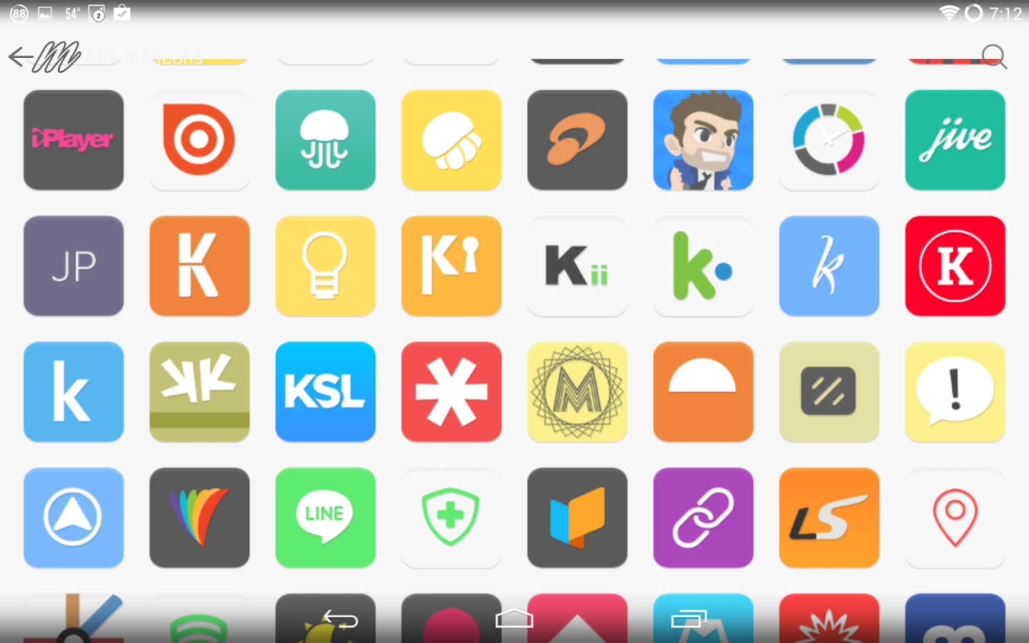 Minimo Icons 4.0 - screenshot