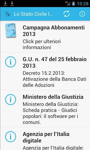 Lo Stato Civile Italiano