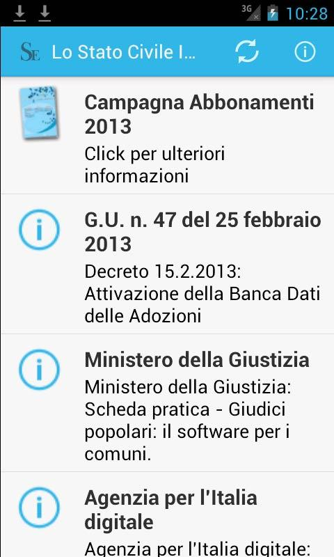 Lo Stato Civile Italiano- screenshot